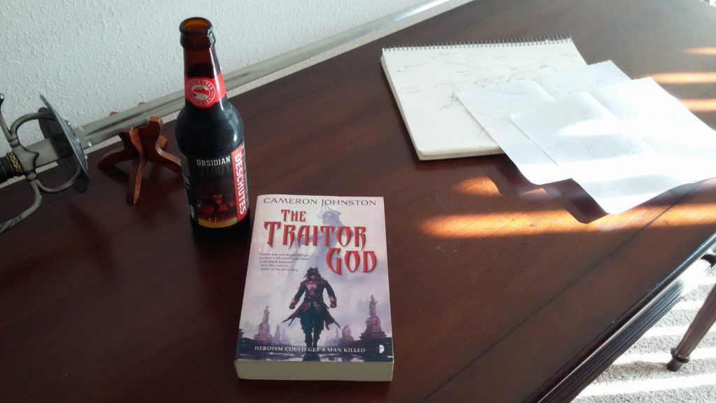 cameron johnston the traitor god review eric lewis