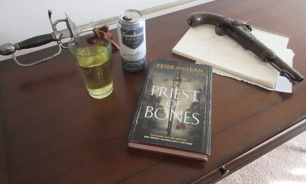 priest of bones peter mclean fantasy book review