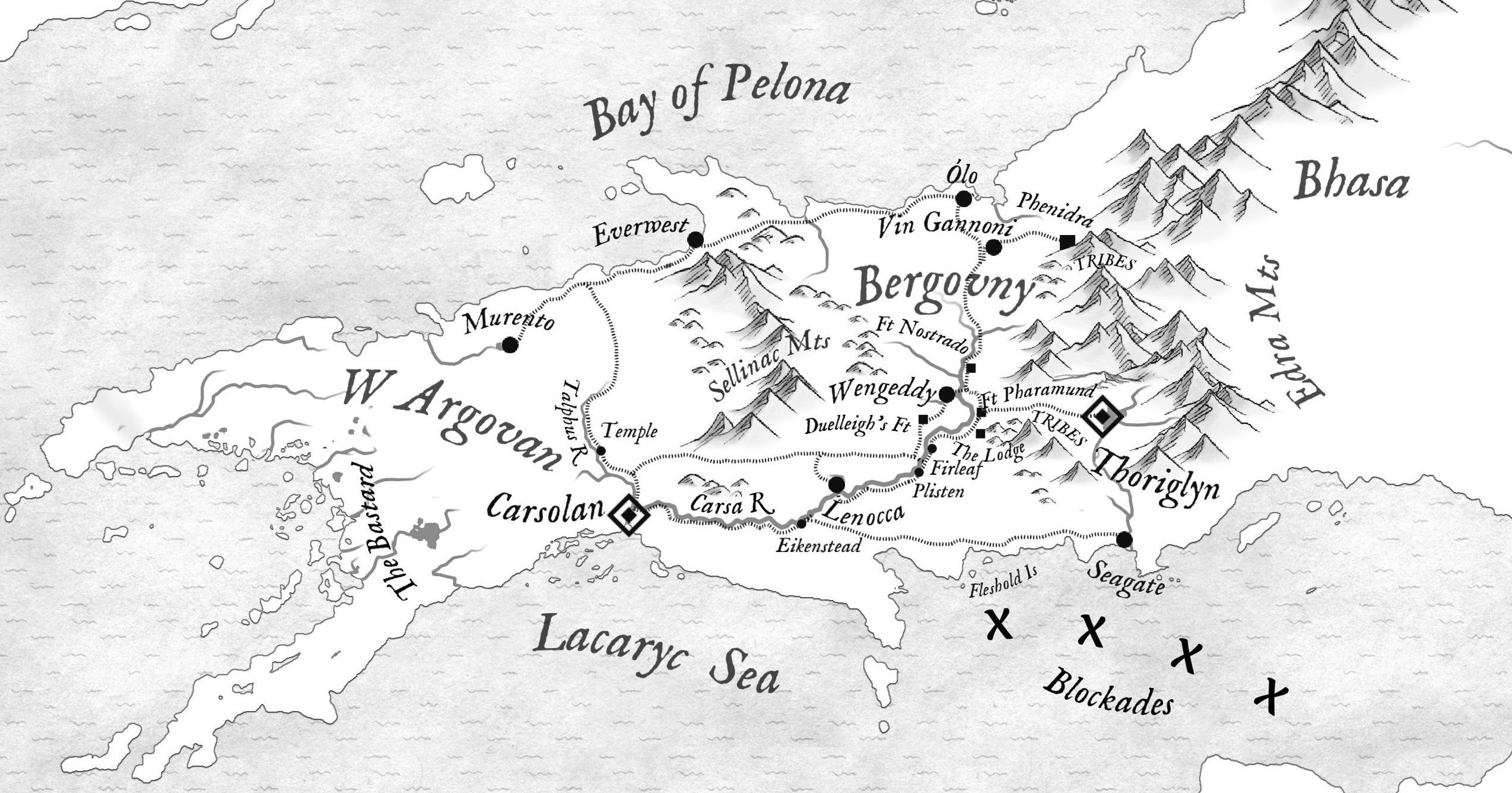 the heron kings map wonderdraft argovan bergovny eric lewis debut fantasy author grimdark