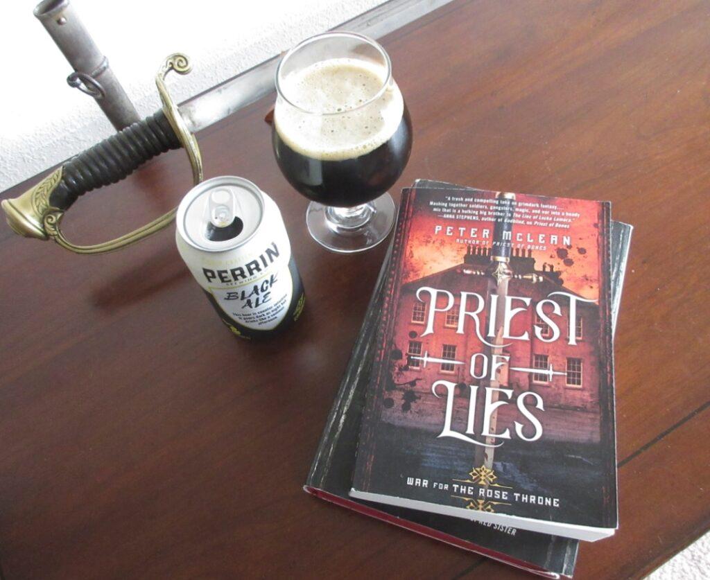 priest of lies peter mclean book review eric lewis the heron kings
