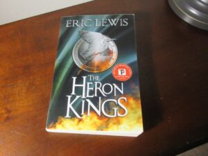 The Heron Kings by Eric Lewis dark fantasy debut novel grimdark author
