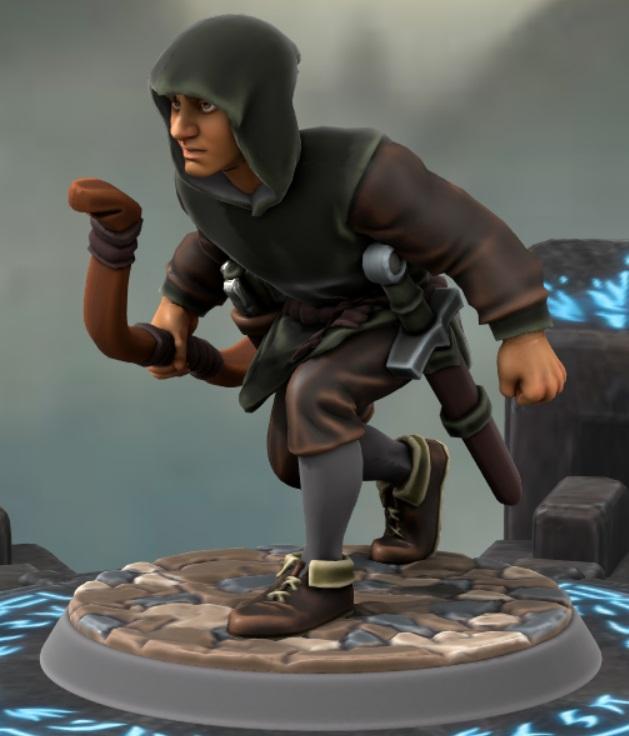 the heron kings by eric lewis hero forge miniatures models rpg gaming d&d fantasy character aerrus