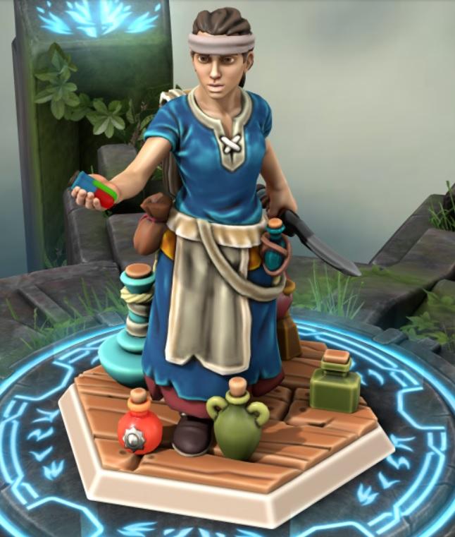 the heron kings by eric lewis grimdark hero forge miniatures models rpg gaming d&d fantasy character alessia