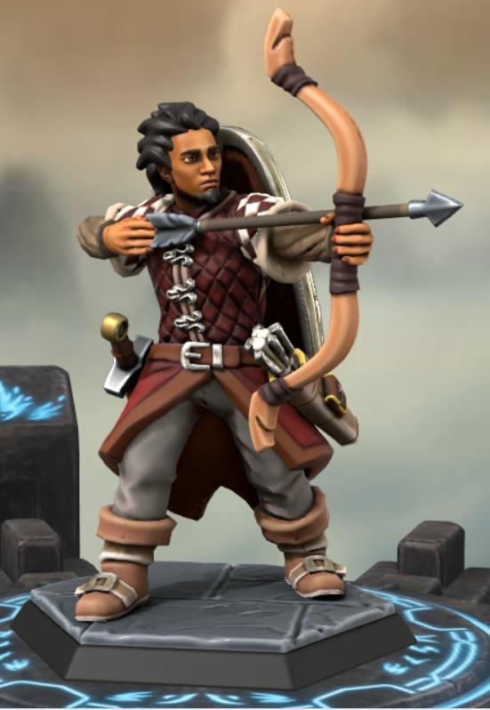 the heron kings by eric lewis hero forge miniatures models rpg gaming d&d fantasy character corren