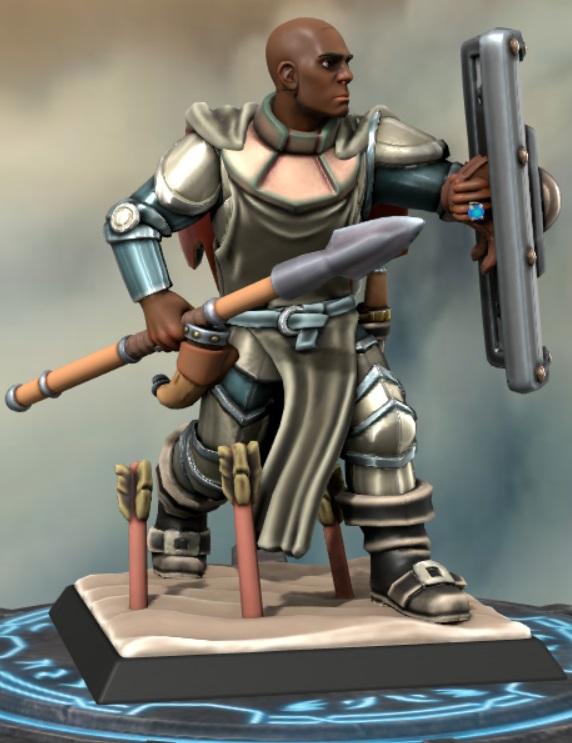 the heron kings by eric lewis hero forge miniatures models rpg gaming d&d fantasy character davenga