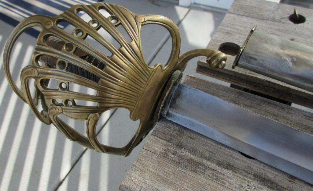 model 1784 french dragoon sword saber antique sword napoleonic 1831 klingenthal