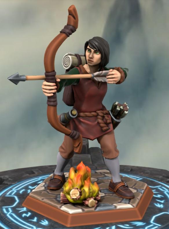 the heron kings by eric lewis grimdark hero forge miniatures models rpg gaming d&d fantasy character linet