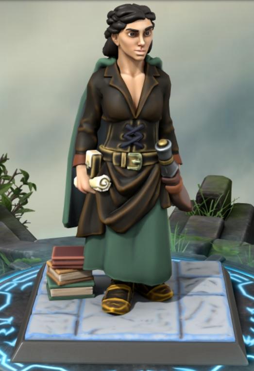 the heron kings by eric lewis grimdark hero forge miniatures models rpg gaming d&d fantasy character vinian