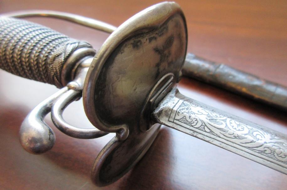 18th century smallsword 18th century court smallsword antique sword eric lewis the heron kings fantasy grimdark author